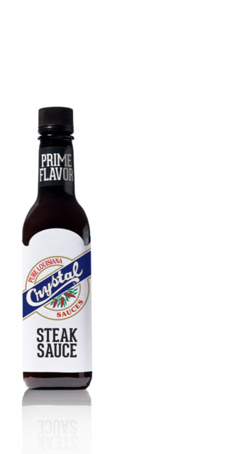 Crystal Hot Sauce Product Carousel Steak BG