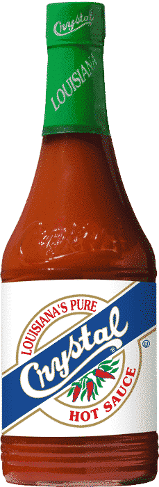 Crystal Hot Sauce Products Crystal Hot Sauce Original 12oz Bottle clipped newNeckWrapper