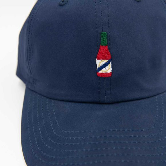 crystal hot sauce performance cap navy 02